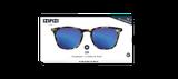 Izipizi Adults #E Sun Tortoise Blue Mirror Lenses