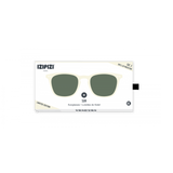 Izipizi White Clay Soft Sunglasses #E