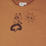 KaiKai T-Shirt The Guy with a Trumpet - Caramel