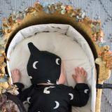 Organic Zoo AW18 Čiapočka Pixie Bonnet Midnight