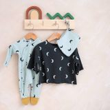 Organic Zoo AW19 Moon Suit with Contrast Feet