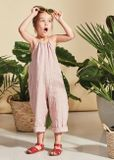 Kids on the Moon SS19 Overal Jumpsuit pink