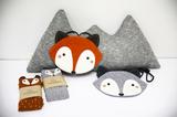 Mini Dressing Bag Fox Brown