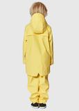 GOSOAKY Waterproof Unisex Jacket Lazy Geese Yellow