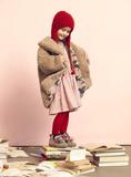 Kids on the Moon AW18 Ophelia Dress Pink