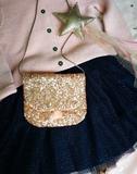 Luciole et Petit Pois Little Handbag Gold