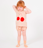 Bobo Choses SS19 Cherry Linen Tank Top for Babies