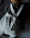 Gray Label AW19 Salopette Grey Melange