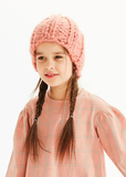 Kids on the Moon Pink Beanie