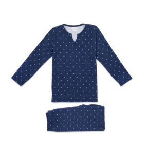 Amiki AW17 Pyjamas Hubert Navy with Stars