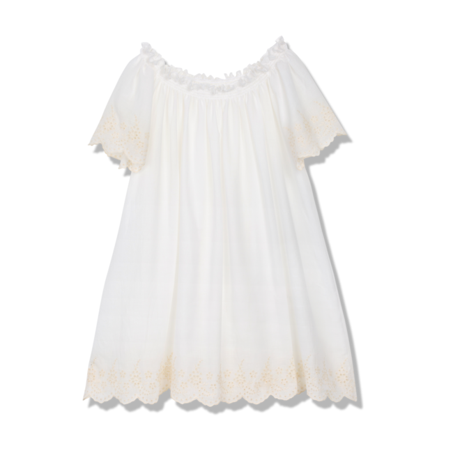 Amiki SS18 Nightdress Jacqueline White