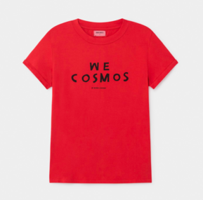 Bobo Choses AW19 Adult We Cosmos Short Sleeve T-Shirt