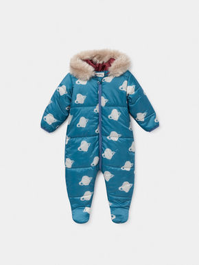 Bobo Choses AW19 All Over Big Saturn Padded Jumpsuit