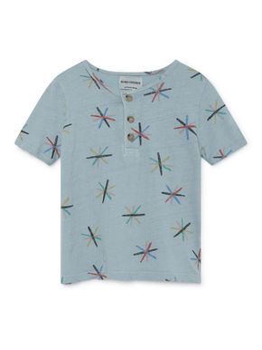 Bobo Choses SS19 Dandelion Buttoned T-Shirt