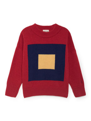Bobo Choses Merino Squares Jumper