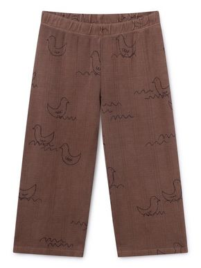 Bobo Choses SS19 Brown Geese Straight Pants