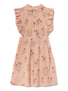 Bobo Choses SS19 Poppy Prairie Ruffled Dress