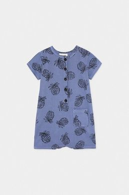 Bobo Choses SS20 All Over Pineapple Playsuit
