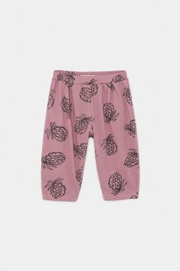 Bobo Choses SS20 All Over Pineapple Jersey Trousers