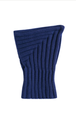 Diobo AW19 Cashmere Hood Dark Blue Henry