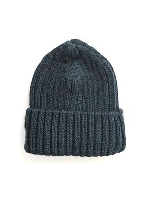 Diobo Ribbed Beanie Emil dark grey