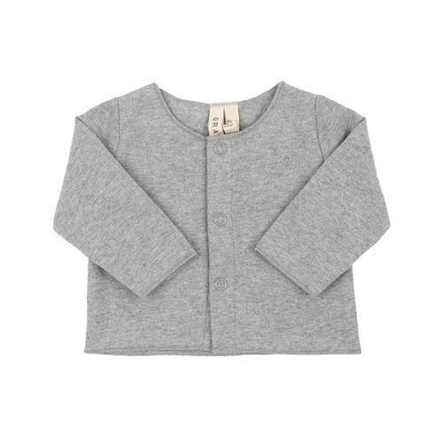 Gray Label SS19 Baby Cardigan Grey Melange