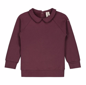 Gray Label AW18 Collar L/S Tee Plum