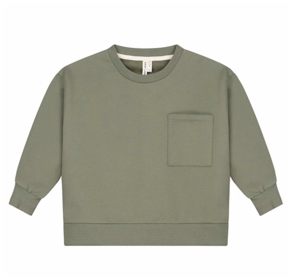 Gray Label AW19 Boxy Sweater Moss