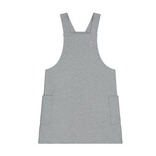 Gray Label AW19 Dungaree Dress Grey Melange