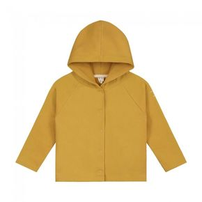 Gray Label SS20 Relaxed hooded cardigan Mustard