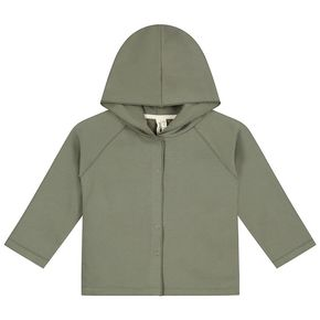 Gray Label SS20 Relaxed hooded cardigan Moss