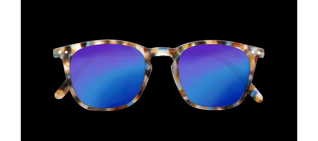 Izipizi #E Junior Sun Blue Tortoise Mirror Lenses
