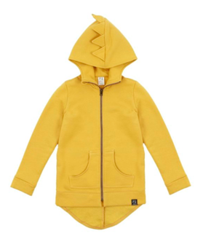Kukukid AW19 Cotton Hoodie Yellow