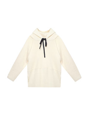 Little Creative Factory Dancers Soft Hoodie Ivory