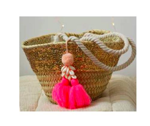 Louise Misha Basket Anitea Flo Pink