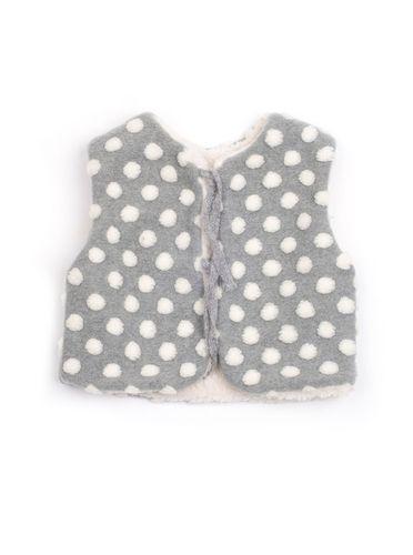 Mini Dressing Snow Ball Vest Grey