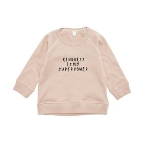 Organic Zoo AW18  Clay Sweatshirt Kindness