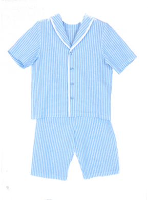 Amiki Pyjamas Samuel Blue Stripes