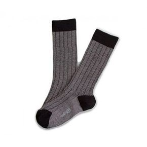 Collegién Socks Grain de Caviar Black Noir