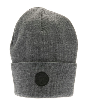 CTH Mini AW17 Flat Knit Beanie Travis Grey
