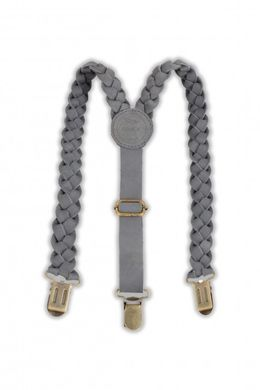 Donsje Leather Braces Suspender grey
