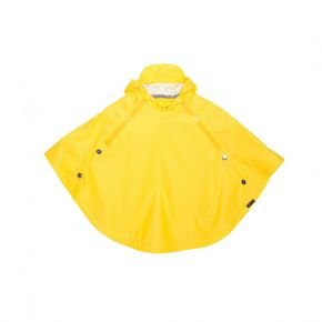 GOSOAKY Waterproof Crouching Tiger Unisex Cape Vibrant Yellow