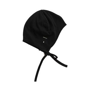 Gray Label AW17 Baby Hat with Strings Nearluy Black