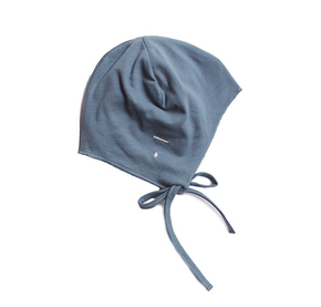 Gray Label AW17 Baby Hat with Strings Denim