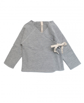 Gray Label Crossover Top Grey Melange