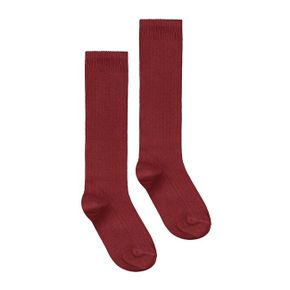 Gray Label AW17  Ribbed Socks Burgundy