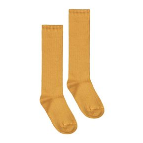 Gray Label  AW17 Long Ribbed Socks Mustard