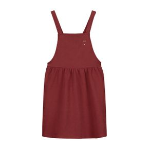 Gray Label AW17 Pinafore Dress Burgundy