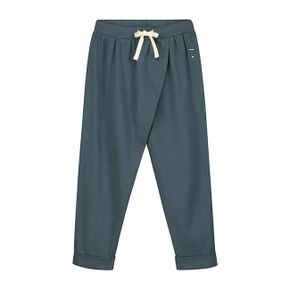Gray Label SS18 Wrap Trousers Pants Blue Grey