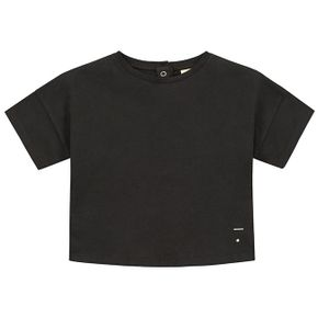 Gray Label SS18 Oversized Crop Tee Nearly Black